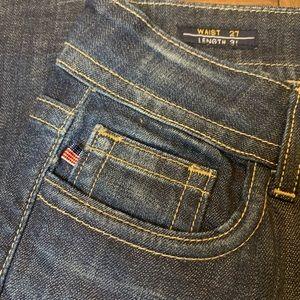 Vigoss Jeans - Vigoss Studio Distressed Skinny Jeans